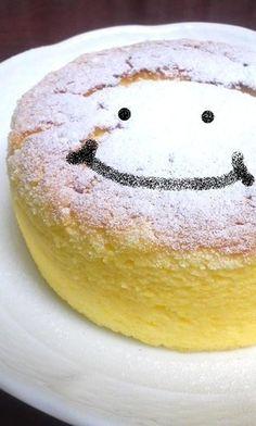 バレンタイン☆材料3つスフレチーズケーキ