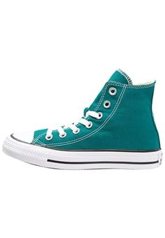 fd7bbeaec7469 CHUCK TAYLOR ALL STAR - Baskets montantes - rebel teal white black -  ZALANDO.FR