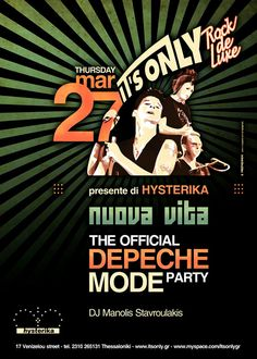 Depeche Mode Party @ It's Only, Thessaloniki
