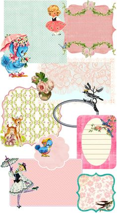 Free vintage Printables - I feel like I've already pinned this, but in case I haven't  - here it is!
