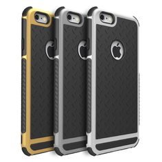 Ultra thin Shockproof Rubber PC and TPU Hybrid Case Cover For Apple iPhone 6 6S 6 Plus High Quality Silicone phone cover