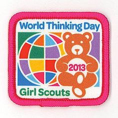 You can get your World Thinking Day Award patch from our online shop. Only $1.25.