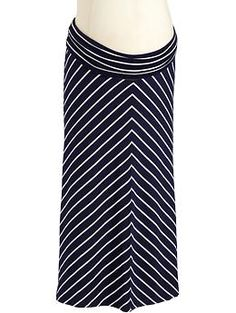 Chevron Stripes are fresh and chic for spring and this @Old Navy maternity skirt…