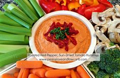 ROASTED RED PEPPER ZUCCHINI HUMMUS: No garbanzo beans and very little oil. Here is another recipe that is amazing, but not quite Phase 1 because of the Tahini. So, you can try it without it, using 1 serving of IP Mashed Potatoes (make as directed, then add) and substitute Sesame Oil for Olive oil if you want the nutty taste.