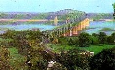 hain of Rocks Bridge near St. Louis, Missouri which was a Route 66 Alignment at one time.