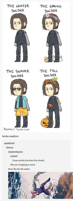 You mean the fall soldier || Bucky Barnes || #fanart #humor