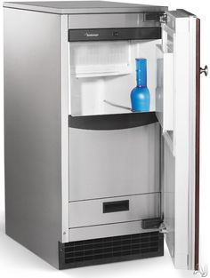 """Scotsman SCCP30MA1SU 15"""" Under Counter Ice Maker with 26 lbs. Ice Storage Capacity, 30 lbs Clear Cube Ice Production per Day, Self-Closing D..."""