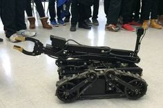 From bomb squad to high school: Police robot takes on new life in Brampton