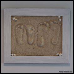 Sand Footprint Craft - Full DIY instructions!