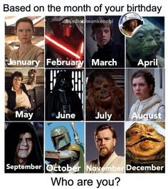 I'm Obi-Wan :) comment yours