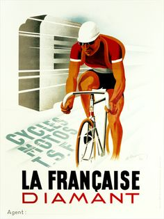 Love these old bicycle posters.