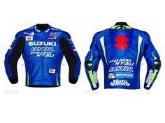 Andrea Iannone Suzuki MotoGP 2017 Leather Jacket  https://www.leathercollection.com/en-we/andrea-iannone-suzuki-motogp-2017-leather-jacket.html  #Andrea_Iannone_Suzuki_MotoGP_2017_Leather_Jacket, #MotoGP_2017, #Suzuki_Jacket