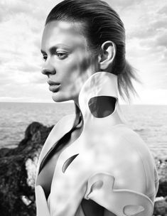 Model Stef Van Der Laan;  Photographed by Benjamin Vnuk;
