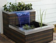 The AquaDesigner Living Fountain , aquaponics, aquaponic system, aquaponics gardening, diy aquaponics