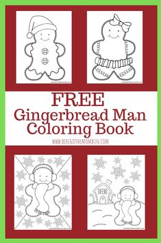 Kids love The Gingerbread Man. Help their imaginations run wild with these free gingerbread man coloring pages. Check out these free gingerbread man coloring pages. Printable Coloring Pages, Coloring For Kids, Coloring Pages For Kids, Coloring Books, Coloring Sheets, Adult Coloring, Winter Activities For Kids, Fun Activities, Preschool Ideas
