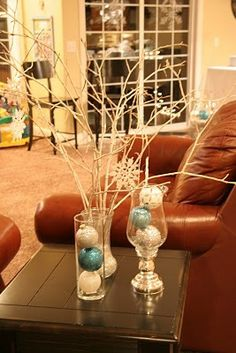 Winter Wonderland Cocoa Party - Kara's Party Ideas - The Place for All Things Party Frozen Christmas, Blue Christmas, All Things Christmas, Winter Christmas, Christmas Holidays, Christmas Ideas, Turquoise Christmas, Christmas Dance, Christmas Balls