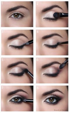 Image via We Heart It #beautiful #cosmetics #eyelash #eyeliner #eyeshadow #make-up #tutorial