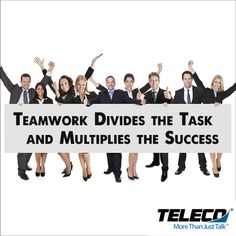"""Teamwork is vital to the success of any business. US football coach Bud Wilkinson once said: """"If a team is to reach its potential, each player must be willing to subordinate his personal goals to the good of the team."""""""