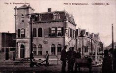 Gorredijk - Post en Telegraafkantoor - poststempel 1907 - Uitg. J. Ringenoldus Dzn.