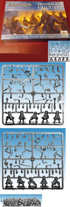 28mm 158730: Frostgrave Fgvp02 Cultists (20) Miniatures Death Cult Followers Chaos Undead Nib -> BUY IT NOW ONLY: $34.99 on eBay!