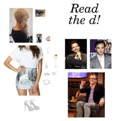 """""""On Chatty Man for an interview with Sebastian and Ed (Read the d!)"""" by nerdbucket ❤ liked on Polyvore featuring Nasty Gal, Essie, Lancôme, Allurez, Love This Life, Eternally Haute, Sebastian Professional, LSA International, Giuseppe Zanotti and SebastianStan"""