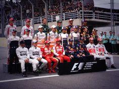 Class of 2013 at the Brazilian Grand Prix - Last race of the season