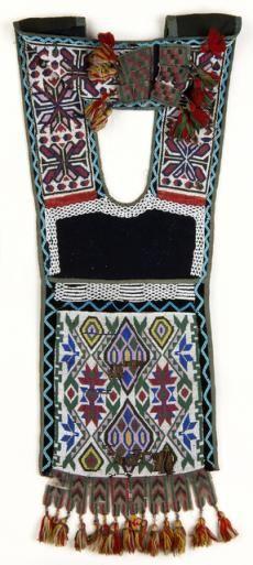 An Ojibwe bandolier bag, 1890`s