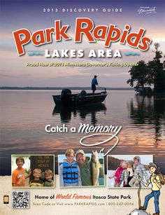 Park Rapids Minnesota. 2013 Interactive Discovery Guide  Where the Mighty Mississippi Begins!