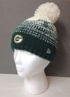 buy online b7710 ae6b8 ... low price details about youth green bay packers new era knit hat gray  logo whiz 3