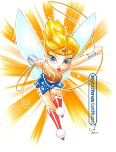 """""""Wonder Tink"""" by Amy Mebberson"""