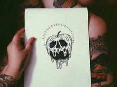drawing art disney tattoo Witch snow white evil sharpie witchcraft flash tattoo flash poison apple: