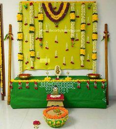 Indian Decoration, Arch Decoration, Backdrop Decorations, Festival Decorations, Flower Decorations, Wedding Mandap, Decor Wedding, Wedding Decorations, Diwali Pooja