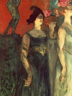 Messalina, by Henri de Toulouse Lautrec oil on canvas, De Agostini Picture Library / The Bridgeman Art Library Henri De Toulouse-lautrec, Renoir, Edgar Degas, Gustav Klimt, William Morris, French Artists, Edouard Manet, Paul Cezanne, Oeuvre D'art