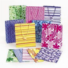 Mega Colorful Gift Bag Assortment (5 Dozen) @trendingtoystore.com