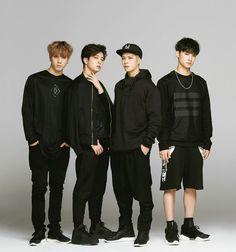 Yugyeom,Youngjae,Jackson,and JB - Hanako Magazine