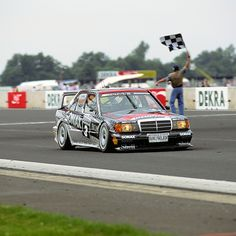 It was 25 years ago that Mercedes-Benz taught the world of motor sport a very special lesson in evolution theory. The AMG-Mercedes 190 E 2.5-16 Evolution II racing tourer dominated the 1992 season of the German Touring Car Championship (DTM) with a whopping 16 wins from 24 races.  #MercedesAMG #Mercedes #AMG #DrivingPerformance #AMGclassic