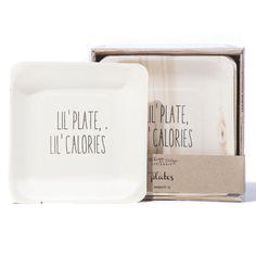 Tiny Plates - Lil' Plate, Lil' Calories