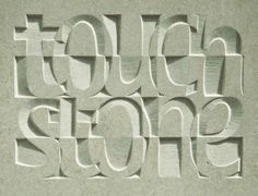Jennifer Tetlow - Stone Sculpture Journal: Heavens Above, Types Of Lettering, Lettering Design, Hand Lettering, Concrete Sculpture, Stone Sculpture, Calligraphy Letters, Typography Letters, Alphabet Symbols, Wood Carving Designs