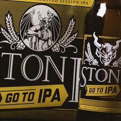 Up until now, it's just been our go-to session #IPA , but as of today it is out there for all to enjoy as a year-round, big-hop, low-ABV go-to #beer - STONE GO TO IPA!