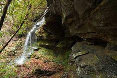 waterfall on Laurel Creek, South Carolina