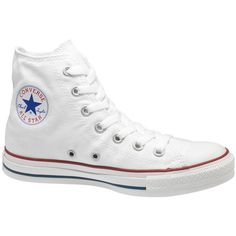 Chuck Taylor Canvas High-Top Sneakers   Hudson's Bay (92 NZD) ❤ liked on Polyvore featuring shoes, sneakers, canvas sneakers, canvas trainers, canvas high tops, hi top canvas sneakers and canvas hi tops