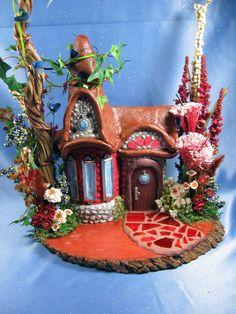 Large Magical Wizard\/Fairy House... 185.00, via Etsy.