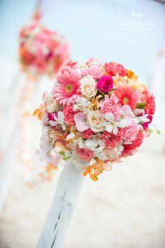 PAMA Celebrate Summer #PAMACelebrateSummer #contest  Wedding Isle Flowers -- Watermelon Color