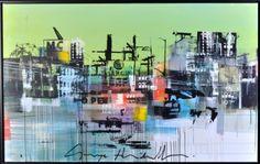 George Heidweiller - Green zone - Onze collectie - IQ Kunstuitleen