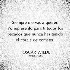 Oscar Wilde @Nochedeletras