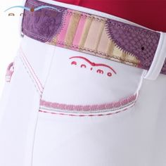 Super cute Animo breeches - love the stitching! from http://www.von-roenne-shop.com/Riders/Cavalleria-Toscana-competition-shirt::4940.html?startingSlide= #charleighscookies #horsecookies #equestrianfashion
