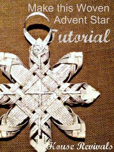 House Revivals: Antique Woven Star Tutorial