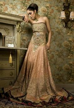 Bridal Dresses Fashion 2014-2015 in Pakistan | Best Bridal Suits Designer