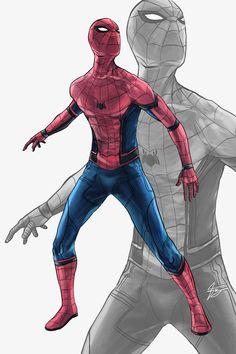 Civil War Spider-Man by Feakry on DeviantArt
