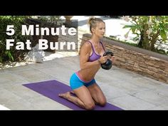 5 Minute Fat Burning Workout #125 - YouTube